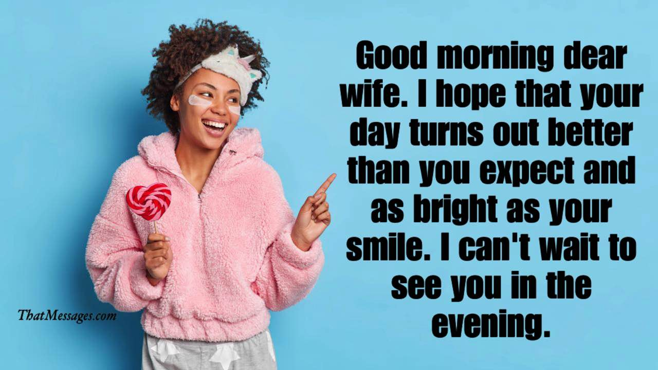 Deep Good Morning Message for Her